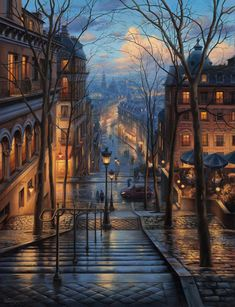 Montmartre dream ~ Paris, France Artist: Awesome Founders: - Best Places to Visit X Beautiful World, Beautiful Places, Wonderful Places, Wonderful Picture, Belle Photo, Travel Photography, Street Photography, Cityscape Photography, France Photography