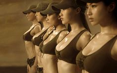 Chinese women's military sevice?