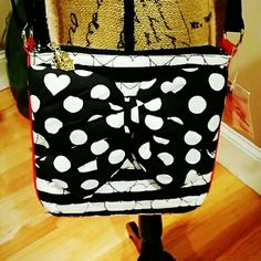 Betsey Johnson Crossbody Adorable Betsey Johnson Crossbody Bag. NWT. Zipper closure. Adorable bow on front of bag. Strap is nylon and adjustable. 2 open pockets inside bag with a zipper pocket. Betsey Johnson Bags Crossbody Bags