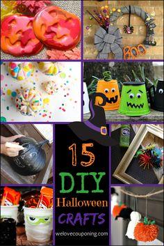 15 DIY Halloween cra