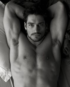 David Gandy, yum! I had another guy picked for Christian Grey but David is even better! Hehe!