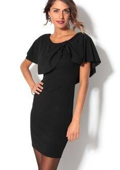 Večerné šaty s hlbokým výstrihom vzadu #ModinoSK #LBD #LittleBlackdress