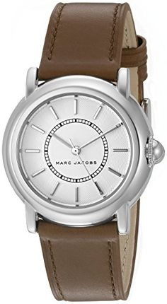 a9669b847c7d3 Marc Jacobs Womens Courtney Brown Leather Watch MJ1448 >>> Check out the  image by visiting the link. (This is an affiliate link)