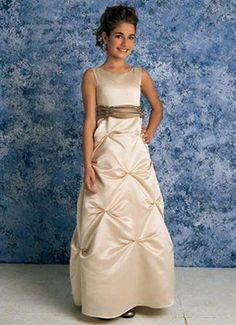 junior brides maid dress