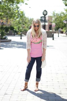 Watermelon @OasapOfficial love this top and blogger :)