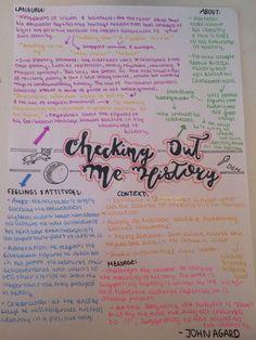 Checking out me history - John Agard //poem revision sheet English Gcse Revision, Gcse English Language, Exam Revision, Revision Notes, Study Notes, Language Arts, English Literature Notes, Checking Out Me History, Gcse Poems