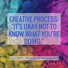 Oh yes this is the creative process! http://wwas.org.au