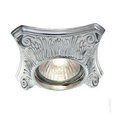Точечный светильник с квадратной накладкой Illumico Erli. IL6146-1YA-61 WT CR http://illumico-shop.ru/spoty/tochechnyy-svetilnik-illumico-erli-1ya-wt-cr/