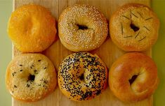 We made delicious bagels today in class! Did you know that bagels are boiled before they are baked in an oven?