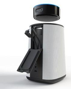 Den Amazon Echo Dot fügen Sie einfach in die Oberseite des Ninety7 Vaux ein und verkabeln ihn - fertig.