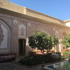 Mahinestan Raheb Hotel, Kashan, Iran.