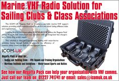 Marine VHF Radio Solution for Sailing Clubs and Class Associations