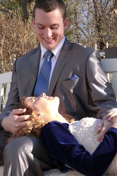 LDS wedding photo, (my son and his bride!) (Yes I photographed my own child's wedding...and yes, I'd do it again!)