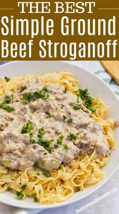 Beef Stroganoff #beef #stroganoff #familydinner