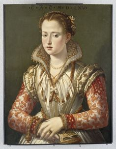 A Young Woman, 1565 (follower of Agnolo Bronzino) (1503-1572) Seattle Art Museum, WA 61.153