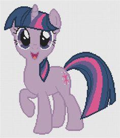 My Little Pony Twilight Sparkle Cross-stitch Pattern