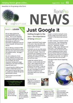 August 12 floristPro News