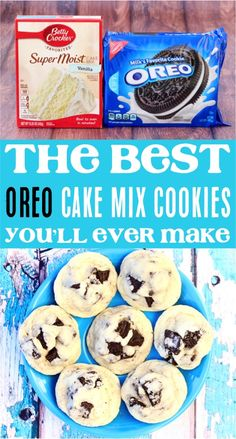 (Only 4 Ingredients) - Never Ending Journeys - - Oreo Cookie Recipe! (Only 4 Ingredients) – Never Ending Journeys Cookies Oreo Cake Mix Cookie Recipes! This easy oreo dessert is such a delicious cookie for any occasion! Cake Mix Cookie Recipes, Chocolate Cookie Recipes, Easy Cheesecake Recipes, Cake Mix Cookies, Sugar Cookies Recipe, Oreo Cookies, Cookies Et Biscuits, Yummy Cookies, Chocolate Chip Cookies