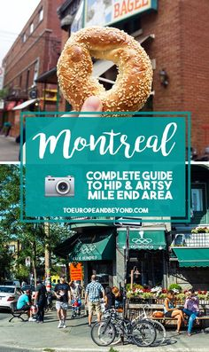 A list of things to see and do in Mile End Montreal, the artsiest and coolest district in the city. Includes food tours, boutiques, and cafés suggestions. Voyage Montreal, Quebec Montreal, Old Montreal, Montreal Ville, Quebec City, Montreal Food, Montreal Vacation, Montreal Travel, North And South
