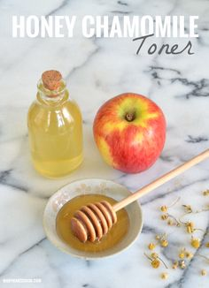 This simple DIY toner recipe is great for all skin types and uses just a handful of all natural ingredients!