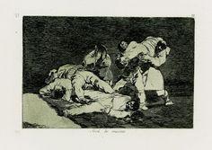 Francisco de Goya - Será lo mismo. Los Desastres de la Guerra nº 21