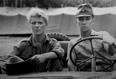 David Bowie and Ryuichi sakamoto in Merry Christmas mr. Lawerence (1983)