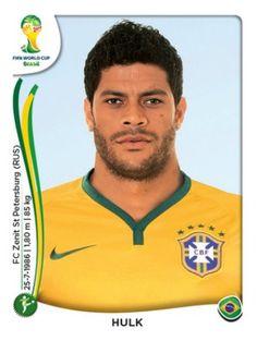 """Brasil - Givaldo Vieira de Souza """"Hulk"""""""