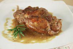 Králik na horčici - Recept pre každého kuchára, množstvo receptov pre pečenie a varenie. Recepty pre chutný život. Slovenské jedlá a medzinárodná kuchyňa Food And Drink, Chicken, Straws, Cubs