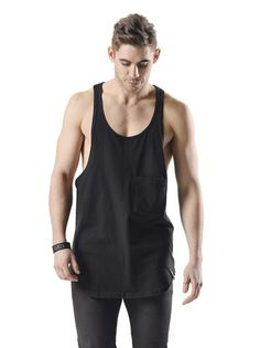 The Cameron & James Sigurd black singlet features our signature rounded tails. The round neck and loose fitting singlet is ideal all year round for layering or for when you want to look and feel cool while staying trendy. It is a limited order product, designed and ethically handcrafted to our exacting standard. Made in Melbourne from 100% natural organic cotton. Shop the Dress Collective now www.thedresscollective.com