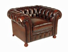 Victorian Furniture, Vintage Furniture, Leather Chesterfield Chair, Industrial Style Bedroom, Wood Lumber, Cigar Room, Leather Furniture, Furniture Upholstery, Furniture Inspiration
