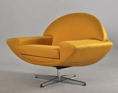 Johannes Andersen's armchair 'Capri' from the 1960s