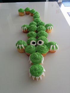 Pirate Birthday, Pirate Party, 5th Birthday, Birthday Cakes, Crocodile Cake, Crocodile Tears, Cup Cakes, Cupcake Cakes, Cute Couple Tattoos
