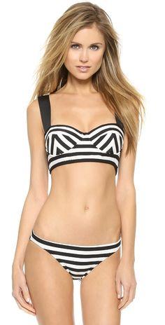 c30fec197e90f Kate Spade New York Georgica Beach Stripes Bralette Bikini Top