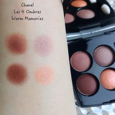 Chanel Les 4 Ombres 354 Warm Memories | Lenallure Eyeliner, Eyeshadow, Boudoir, Swatch, Makeup Looks, Chanel, Memories, Warm, Beauty