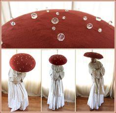 Fantasia Dancing Mushroom Costume by aelthwyn.deviantart.com