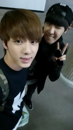 jin and jhope's twitter update
