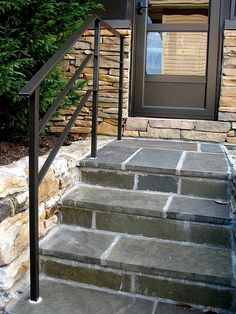 Best Garden Steps With A Wrought Iron Handrail On The East 640 x 480