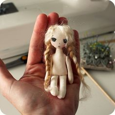 tiny doll by Gingermelon  http://www.pinterest.com/gingermelon/gingermelon-designs/