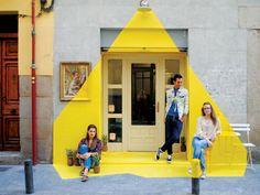 Vegan Restauran in Madrid Features an Exciting Ephemeral Installation