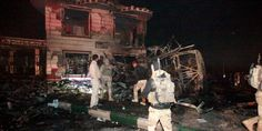 #Suicide truck bomb kills at least 17 in south #Baghdad