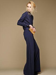 Never met a wide-leg pant I didn't like.  #DivinenessInNavy