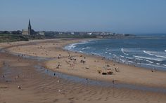 Longsands Beach, Tynemouth. My place of birth (not on the beach though) but just up from here on Warkworth Terrace Tynemouth