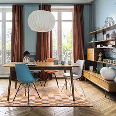 combinar-colores-maison-azul-naranja.jpg (735×735)