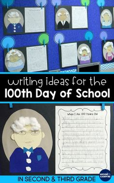 Things I've been tild 100 times!!   These 100th day writing activities for kids are perfect for 2nd and 3rd grade narrative writing and making self-portraits for the 100th day of school. This post gives second and third grade teachers writing ideas and prompt plus a free printable Things We've Been Told 100 Times class book. The writing project makes a great bulletin board too! #teachingideas #100thday #secondgrade #thirdgrade