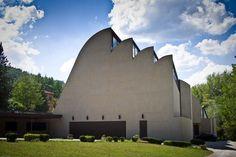 Alvar Aalto Santa Maria Assunta in Riola (1966) Vergato, Italy