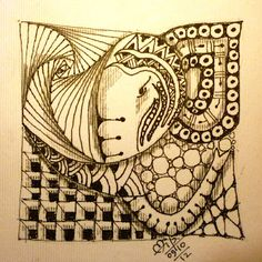Zentangle Ganesha 54 by Dilip
