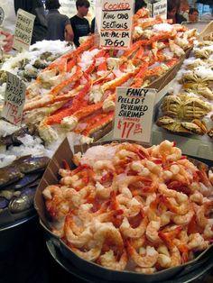 Fresh seafood in Seattle    From: www.dangerous-bus...