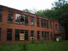 Glen Rogers High School IV | Abandoned school roadtrip West … | Flickr