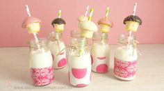 These adorable Birthday party ideas add the element of cuteness to any party and are so easy to make with just Scotch Expressions Tape, string and coloured straws. 7th Birthday, 1st Birthday Parties, Birthday Ideas, Party Treats, Party Favors, Butter Beans, Milk Tea, Childrens Party, Party Time