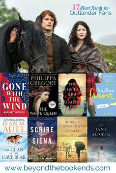17 incredible books for Outlander Fans. The best books to help an outlander book hangover. Favorites include classics like the Odyssey and Gone with the Wind, Time-travel books like Winter Sea and Scribe of Siena and Epic Historical Fiction Series like Cl